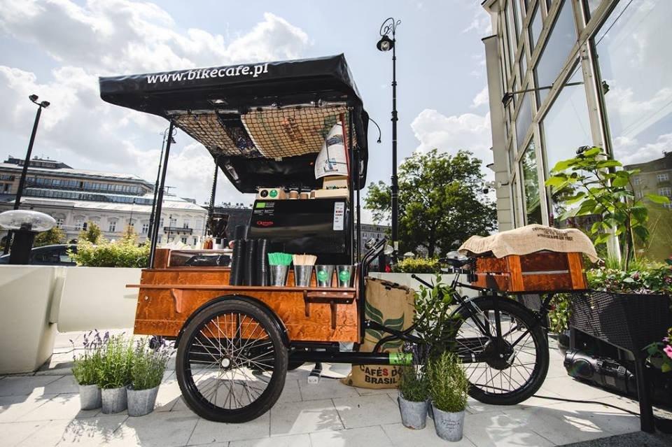 Własna kawiarnia Bike Cafe